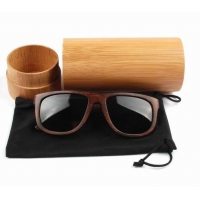 China bamboo sun glasses case wooden on sale