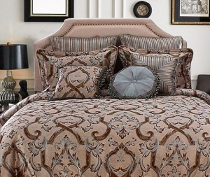 China 100% Polyester European Style Home Living Bedding Set Manufacturer on sale