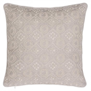 China Fashion Design Exquisite Handmade Embroidery Home Living Pillow on sale