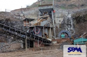 China Hematite Iron Ore Crusher on sale