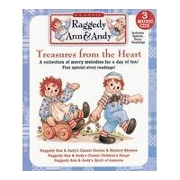 Raggedy Ann & Andy Stories & Songs Music CD Collection