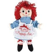 China Raggedy Ann 100th Anniversary Embroidered on Apron Doll **LIMITED AVAILABILITY** on sale