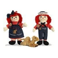 Raggedy Ann & Andy Understanding and Forgiveness Special Edition Dolls by Aurora