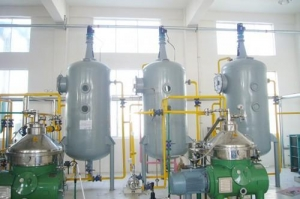 China Vegetable oil refining equipments on sale