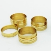 China CNC Brass Molded Swivel Fitting and Insert for sale