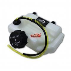 China TOP SPEED RC WORLD Plastic Fuel Tank Kit fit 1/5 RC Hpi Baja RV KM 5B 5T 5SC on sale