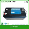 China 12V 250Ah 8D Deep Cycle LiFePo4 Solar Battery for sale