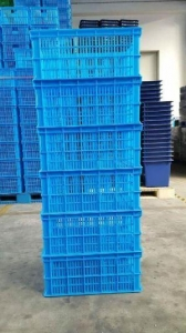 China Plastic Turnover Crate for Vegetable on sale