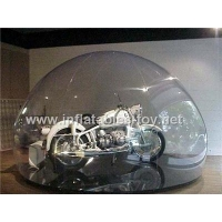 China Clear inflatable dome for car cover snow globe on sale