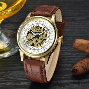China oem luxury custom face automatic mechanical watch on sale