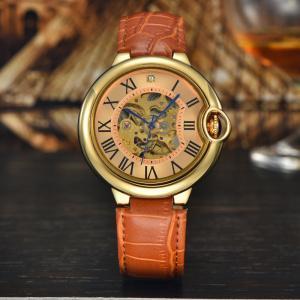 China brand skeleton lady mechanical wrist watch on sale