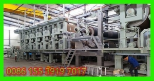 China writing paper making machinery 2400 on sale