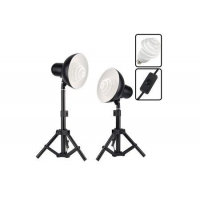 300w Photo Studio Table Top Light Kit For Soft Box Tent