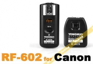 China YONGNUO RF-602/C Remote Flash Trigger for Canon on sale