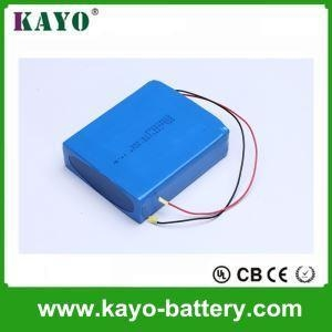 China OEM 7.4V Heated Clothing Battery Rechargeable Lithium Ion 18650 5200mAh Battery Pack For Heated Blan on sale