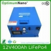 China Lithium Battery Pack 12V 400Ah For Backup Power System for sale