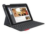 China Logitech Type+ Protective Case w Integrated Keyboard for iPad Air 2, Black on sale