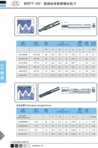 China BSPT-55 British standard taper pipe thread milling cutter on sale