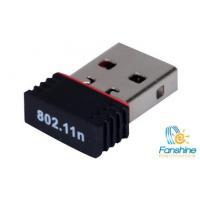 China 150Mbps Wireless Network Mini USB Wifi Adapter/ Wifi Dongle on sale