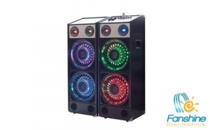 China 2 Cartons Kit Speaker With Remote Control And 7 Band Big EQ on sale