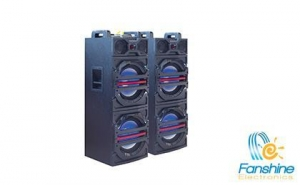 China 2*12 inch Subwoofer With Bluetooth/USB/SD/FM/Remote Control/Voice broadcast Speaker on sale