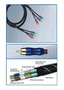 China Component Video Cable CB-5301 on sale