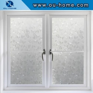 China H9006 Love heart clear static cling window film on sale