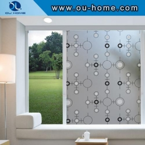 China R806 Popular PVC frosted decortaion stained glass window film on sale