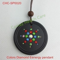 Quantum Energy Pendant with colors crystal diamond