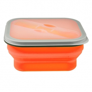 China 600ML Collapsible single case lunch box on sale