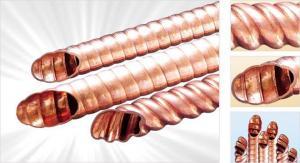 China Corrugate Copper Tube on sale