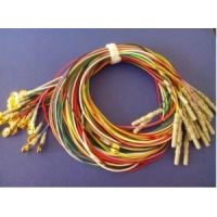 China High Quality Gold Plated Copper EEG Electrodes Cable/by Golden on sale