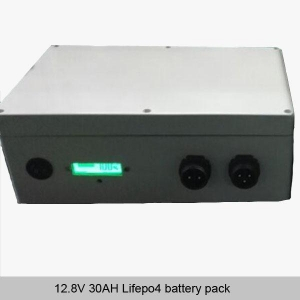 China 12.8V 30AH Lifepo4 battery pack on sale
