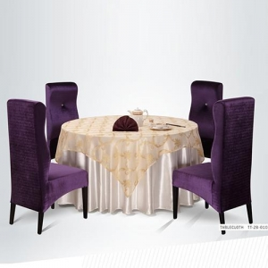 China Modern Banquet Round Table Cloth on sale
