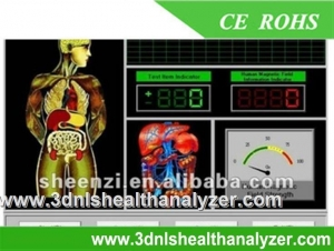 China Portuguese/Japanese Version Quantum Therapy Analyzer on sale