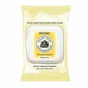 China Burt's Bees Baby Bee Face & Hand Cloths on sale