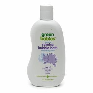 China Green Babies Calming Bubble Bath, Sweet Baby Scent on sale
