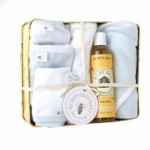 China Burt's Bees Baby Clean Bee Bath Tin, Sky on sale