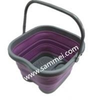China Collapsible TPE Foot Bucket on sale