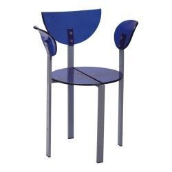 China Clear Acrylic Dining Chair Model NO.: AC-02 on sale