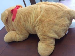 China Niuniu Daddy 120cm Giant Stuffed Puppy D on sale