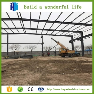 China light steel frame building on sale