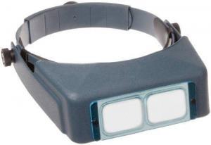 China Donegan DA-5 OptiVisor Headband Magnifier, 2.5x Magnification, 8 Focal Length on sale