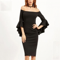 Sheath Cocktail Dress Fitted Pencil Dress Party Dresses Sexy Cocktail Dresses OEM
