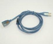 China 1.5m Long USB Extension Cable for LED Card on sale