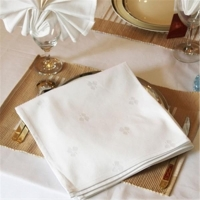 China 100% pure linen coaster/cocktail napkins with ladder hemstitch/embroidery customized on sale