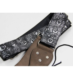 China Metallic person cranial guitar straps BD-08 on sale