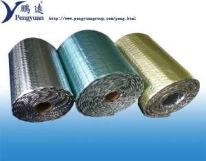 China Alu foil Bubble foil insulation Reflective Foil bubble thermal insulation in building on sale