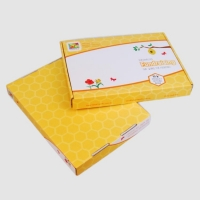 China Custom Yellow Recycable Kid Artwork Packing Corrugated Mailer Boxes Wholesale on sale