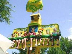 China Theme Park Roller Coaster Amusement Kids Games Children Electric Train in Canada on sale